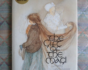 The Gift of the Magi vintage childrens book, hardcover illustrated book Lisbeth Zwerger, oHenry,