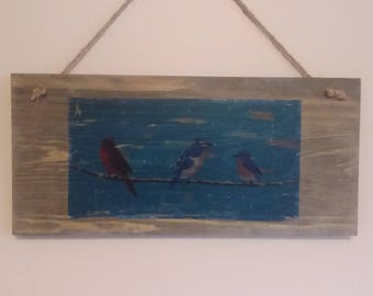 Birds on a wire decoration