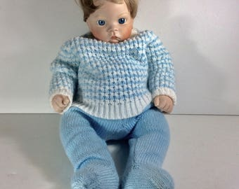 Sugar Britches reproduction of Boots Tyner design 1986 doll.