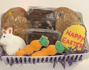 Cookie and Brownie care package, Food care package, College Care package,  food edible gift, Brownie and cookies care package, Gift basket