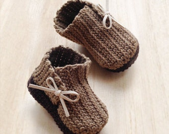 Crochet Pattern - Wrap Baby Booties Newborn Boots Preemie Shoes Crochet Pattern (WB02-B-PAT)