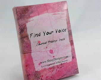 Art Prompt Deck for Art Journals, Journaling Cards, Junk Journals, Smash Books, Journal Prompts, Writing Prompts, Journal Inspiration Deck