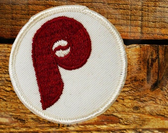 Vintage 70s Philadelphia Phillies Sew On Patch