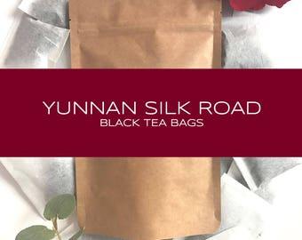 Yunnan Silk Road Black Tea Bags