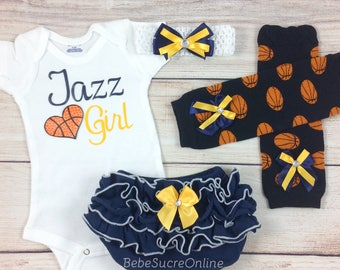 Jazz Girl, Baby Basketball Outfit, Cheerleader Game Day Outfit