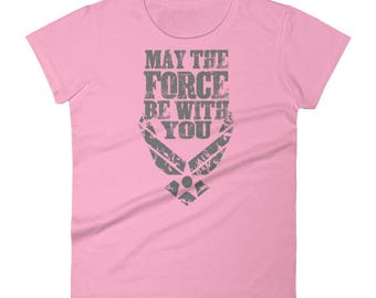 U.S. Air Force T-shirt USAF funny Gift Force Original shirt Women's short sleeve t-shirt