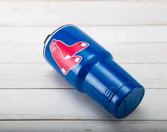 Boston Red Sox YETI Cup  Boston Red Sox Cup Boston Red Sox Birthday Boston Red Sox Gift Boston Red Sox Party Boston Red Sox YETI Tumbler