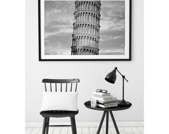 Leaning Tower of Pisa Print, Leaning Tower Print, Pisa italy, Pisa Decor, Pisa Photography, Pisa Print, Pisa Italy, Architecture, Italy Art
