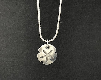 Sterling Silver Pendant on Sterling Silver Chain