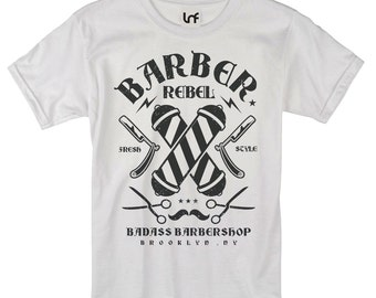 Barber Rebel Men's T-Shirt (SB995)