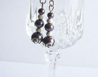 Bridesmaid Pearl Earrings, Pearl earrings, Bridal pearl earrings,  Gifts for Girls, Bridesmaid Gifts