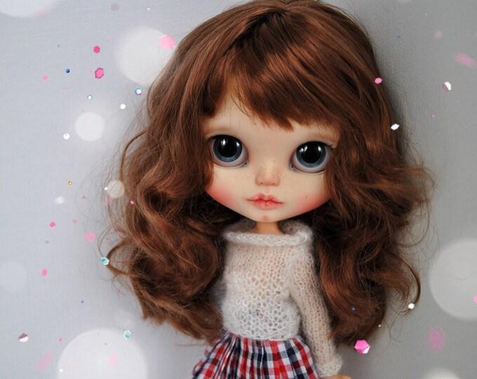 Rosie. OOAK custom Blythe doll art
