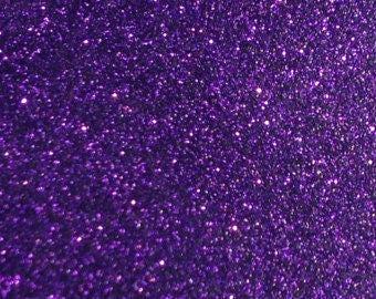 Purple Glitterflex Glitter HTV Heat Transfer Vinyl for Shirts Crafts and More!