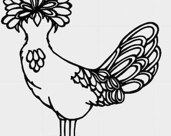 Polish Chicken Decal