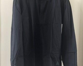 SCOTCH & SODA black shirt with double cuffs