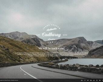 Hardwork Premium Wordpress Maintenance and Coming soon Landing Page