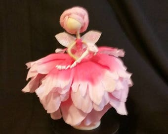 Handmade Flower Fairies This is my Pink Collection (price is for one fairy)