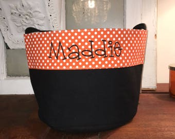 Personalized Trick or Treat Bag