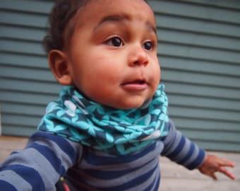 Baby Infinity Scarf Bib - Elroy