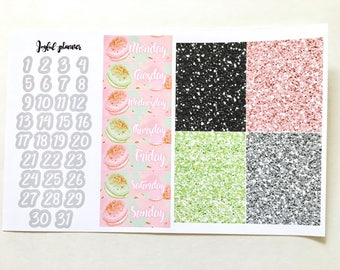 Life is Beautiful Add On Option: Date Covers and Glitter Headers