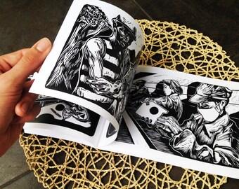 Work / Labour - a linoprint series