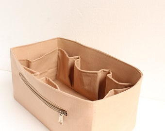 Extra Large Purse organizer for Louis Vuitton Neverfull GM - Bag organizer insert in Sand