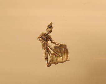 Bull Fighter  Silver Charm Full Figure  @ A Village Coin Bullion 11/10/2  B