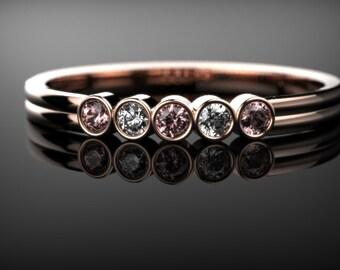 Morganite Engagement Ring Rose Gold Engagement Ring Morganite Engagement Ring Morganite Ring Morganite Rose Gold Engagement Ring