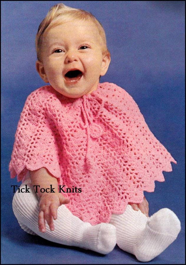 No.385 Baby Crochet Pattern PDF Vintage Baby / Toddler