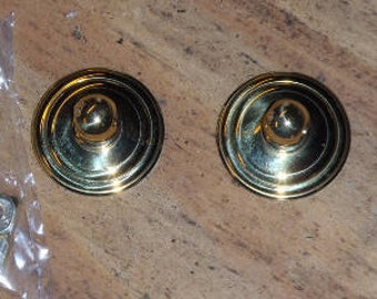 Bail Back plates  Bright Brass  or Set of Bail with Plates