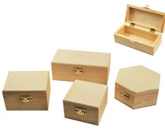 Wood Box Assortment 6-8.5 wClasp