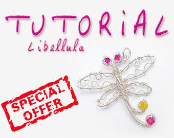 TUTORIAL Dragonfly Wire (with Illustrations Detailed) - Special Offer! - Craft