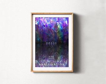 Annihilation Movie Poster, Instant Download Printable Poster, Art Under 20  Dollars, Science Fiction