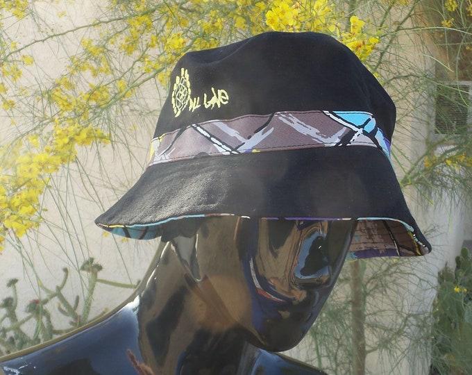Bucket Hat - Geometric Print