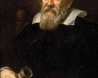 Poster, Many Sizes Available; Galileo Galilei