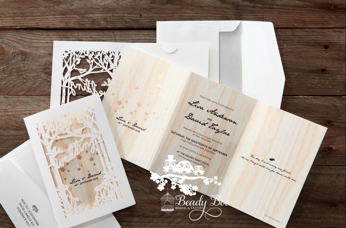 Wedding Invitation   Custom invitations   Unique invitations ...