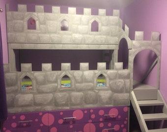 Kids Dream Castle Bed!