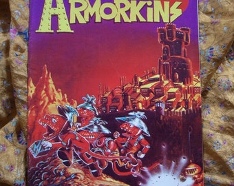Tales Of The Armorkins 1st 1971 Comix Book Larry Todd Trina Underground Alternative Comic Book