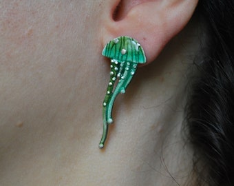 Summer Collection: Jellyfish Stud Earrings
