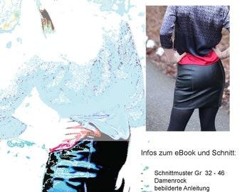 Pencil Skirt Schnittmuster & Anleitung by Sewera