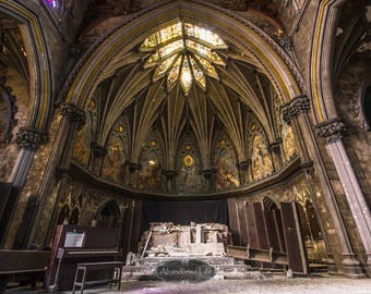 Glory to the Fall -Urban Exploration- abandoned church, cathedral, god, religion, alone, urbex, gothic