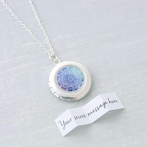 Mandala Locket Necklace