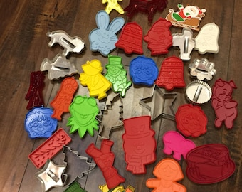 35 Holiday Cookie Cutters of Various Styles and Subjects!