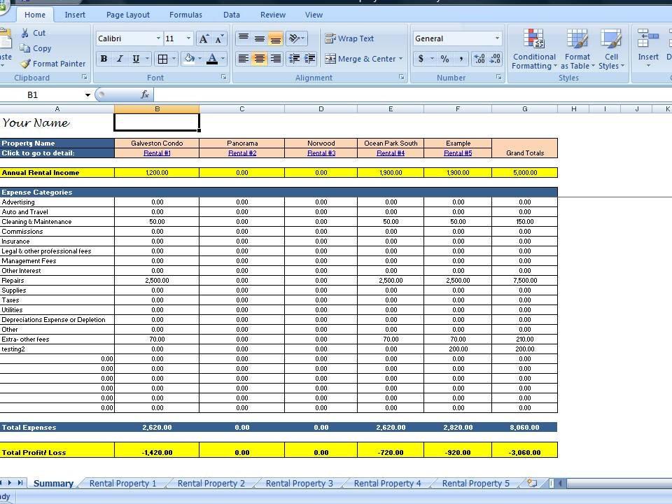 landlord spreadsheet - Mucotadkanews