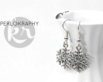 Earrings ~ snowflake ~.