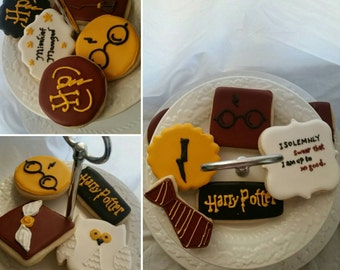 Harry Potter Cookies (One Dozen)