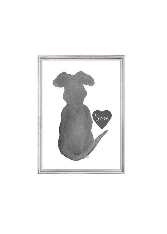 Dog Sympathy Gift, 5x7, 8x10 Print