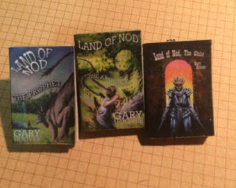 Land of Nod Trilogy Tiny Books Brooche