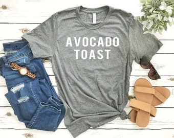 Avocados Shirt - Avocado Toast - Brunch Foodie Shirts - Guacamole - Short-Sleeve Unisex T-Shirt