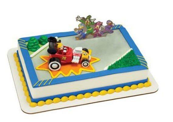Mickey Mouse Amp Roadster Racers Cake Decoration Decoset Cake